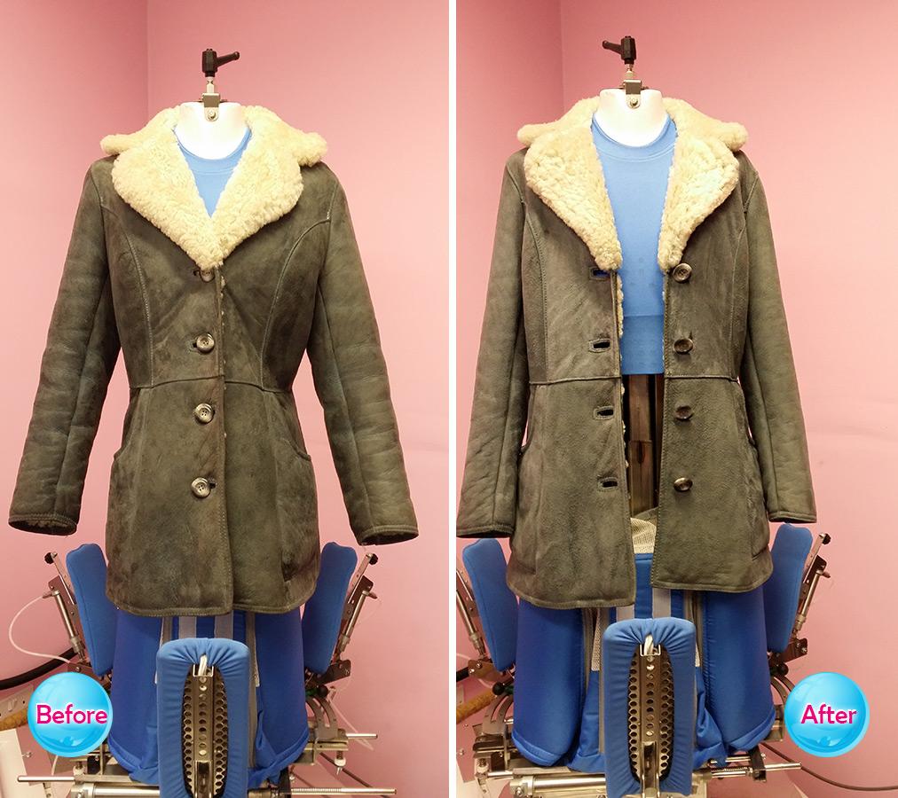 Sheepskin coat 1
