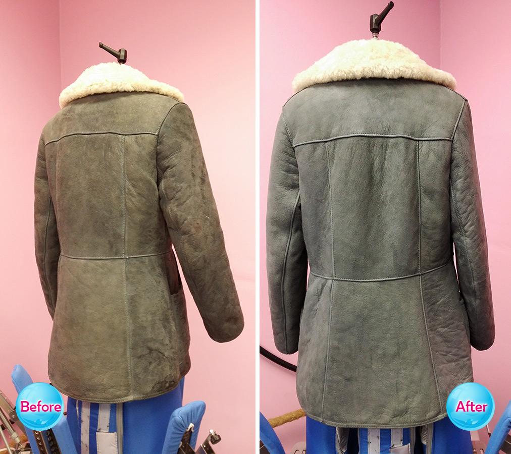 Sheepskin coat 2